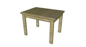 2×4 Table Plans