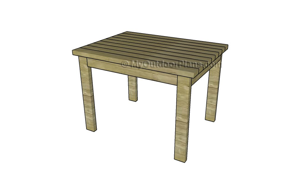 2x4 Patio Furniture Plans.2x4 Table Plans Myoutdoorplans Free Woodworking Plans And