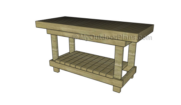 Peachy 2X4 Workbench Plans Myoutdoorplans Free Woodworking Ncnpc Chair Design For Home Ncnpcorg