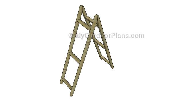Assembling the ladder frame