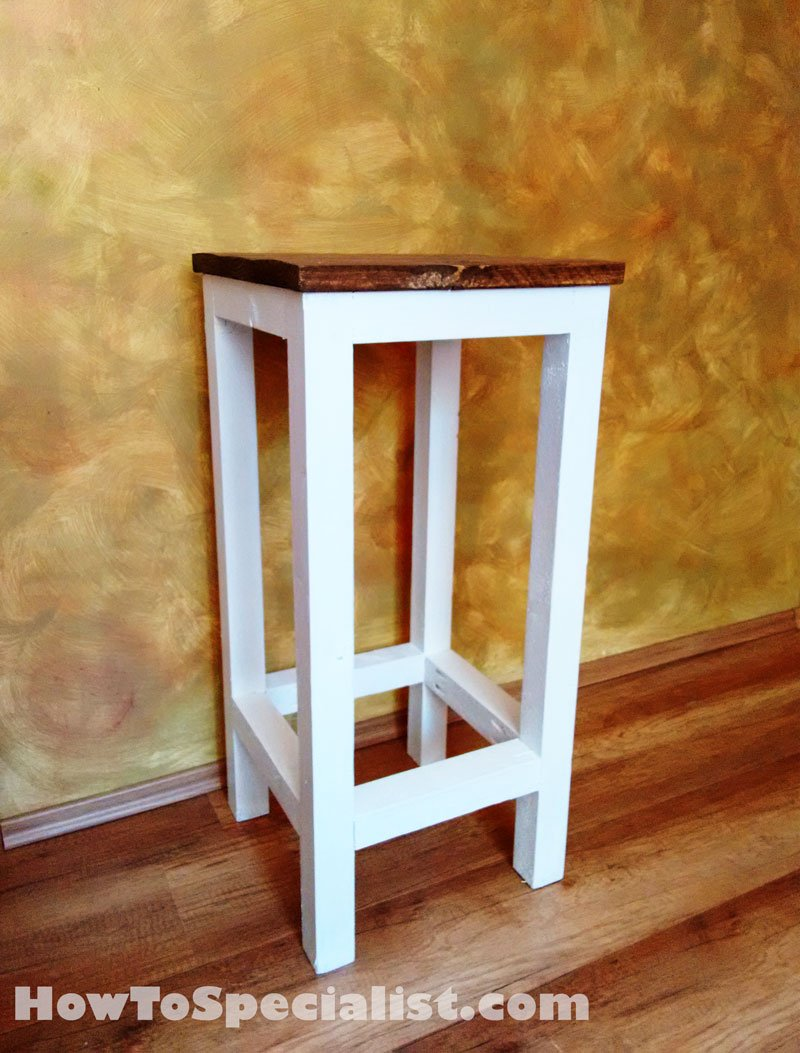 Outdoor Bar Stool Plans | MyOutdoorPlans | Free Woodworking Plans and ...