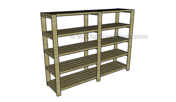 Basement shelving plans