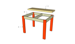 Buidling a 2x4 bench