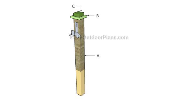 Building a hose holder