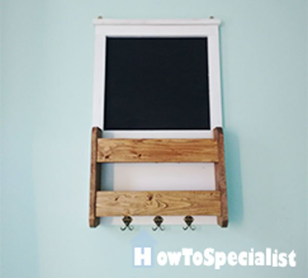 Diy Chalkboard Key Holder