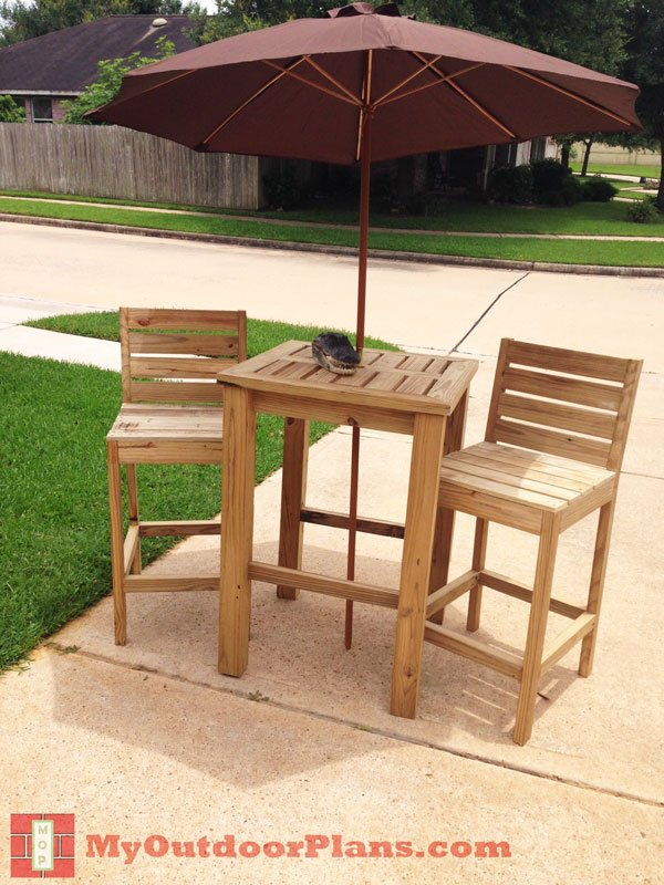 DIY Bar Stool Plans | Free Outdoor Plans - DIY Shed, Wooden Playhouse