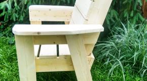 DIY Garden Chair