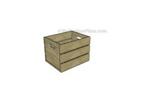 Fruit crate plans