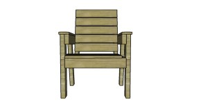 How to Build a Garden Chair