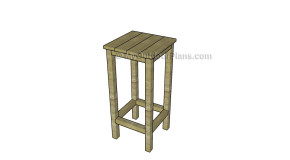 Outdoor Bar Stool Plans