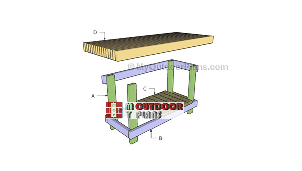Building-a-2x4-workbench