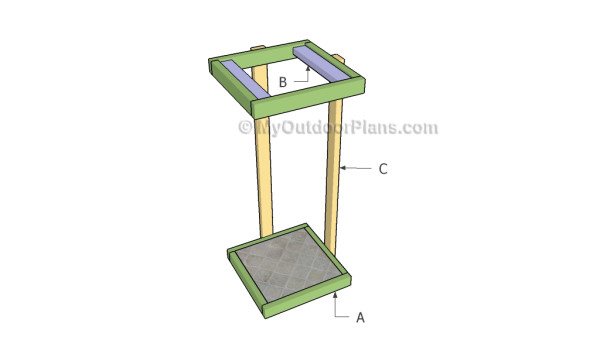 Tiered plant stand plans myoutdoorplans free How to build a tiered plant stand
