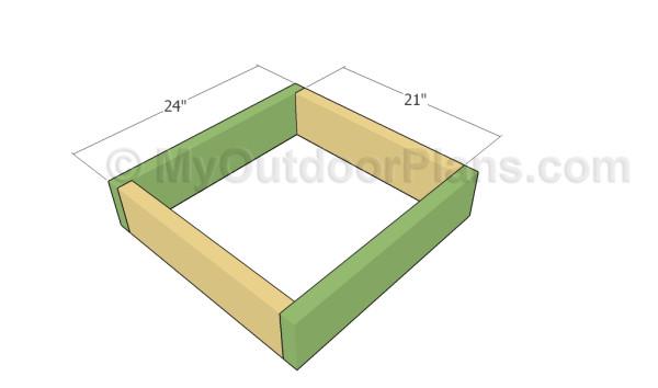how to build a potato planter box