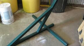 DIY Metal Hammock Stand