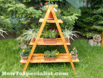 Diy outdoor swing set myoutdoorplans free woodworking plans and projects diy shed wooden - Ladder plant stand plans free ...