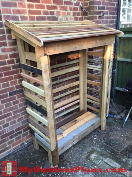 Diy Pallet Shed Myoutdoorplans Free Woodworking Plans