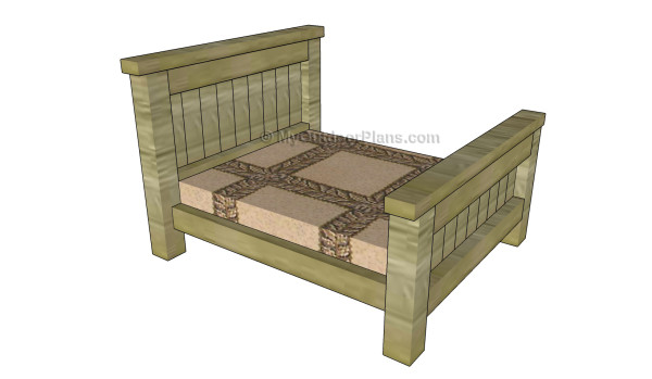 Farmhouse Pet Bed Plans MyOutdoorPlans