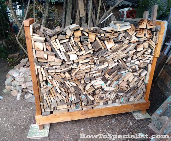 DIY Firewood Rack | MyOutdoorPlans | Free Woodworking Plans and ...