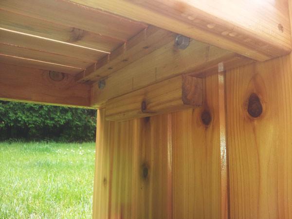Diy Corner Planter Bench Myoutdoorplans Free