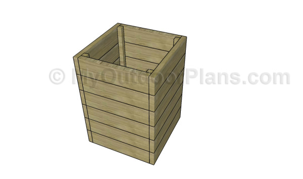 Potato box plans