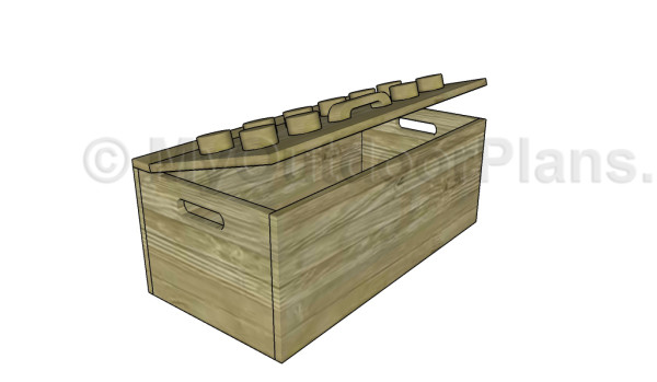Wooden Toy Box Plans | MyOutdoorPlans | Free Woodworking Plans and ...