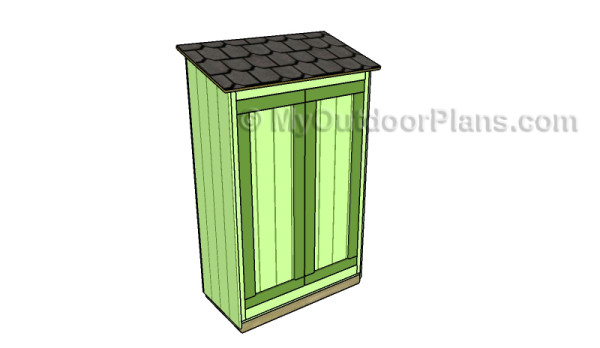 2x4 lean to shed plans