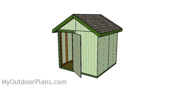 8x8 Shed Plans