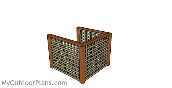 Air Conditioner Screen Plans