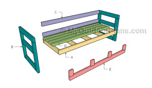 Building an outdoor couch