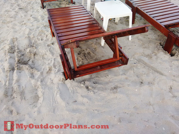 Diy Chaise Lounge Myoutdoorplans Free Woodworking