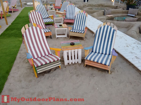DIY Wood Adirondack Chair