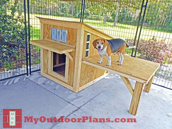 Free Dog House Plans Diy Network Pictures to pin on Pinterest