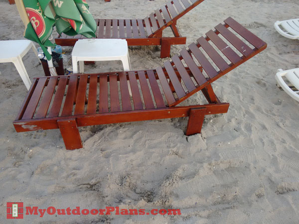 Diy Chaise Lounge Myoutdoorplans Free Woodworking