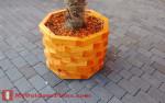 DIY Octagonal Planter