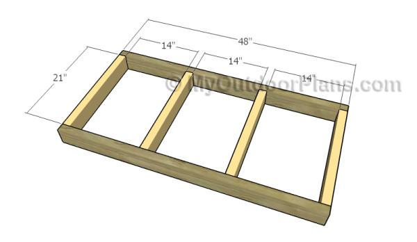 Framing the floor frame