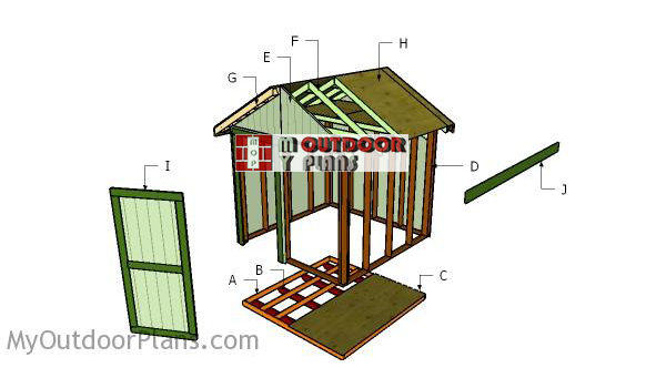 How-to-build-a-8x8-shed