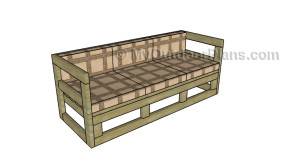 Outdoor Couch Plans