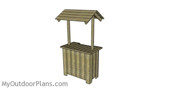Outdoor tiki bar plans
