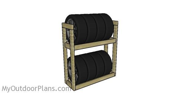 Tire Rack Plans