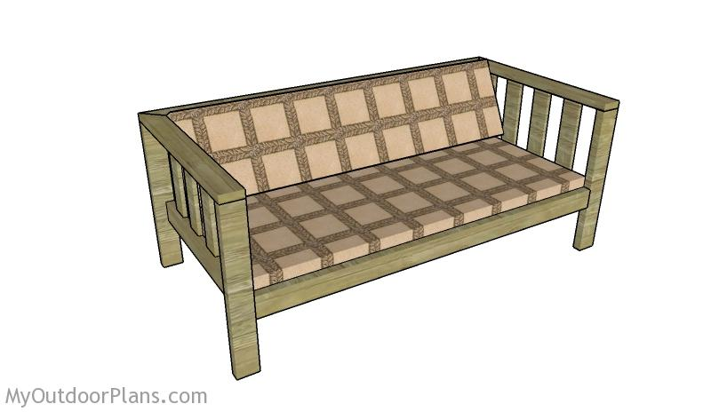 Backyard Sofa Plans