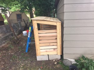 Build a shed for firewood