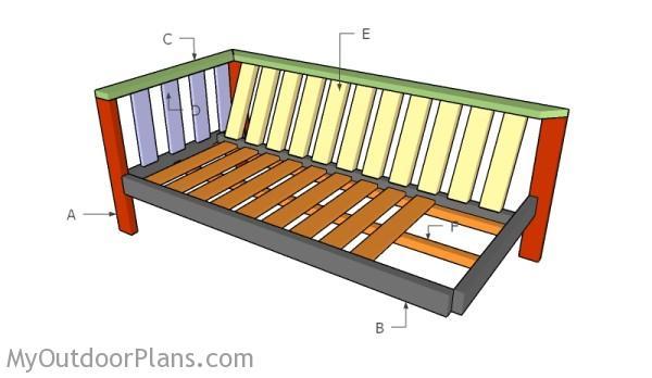 Building a backyard sofa