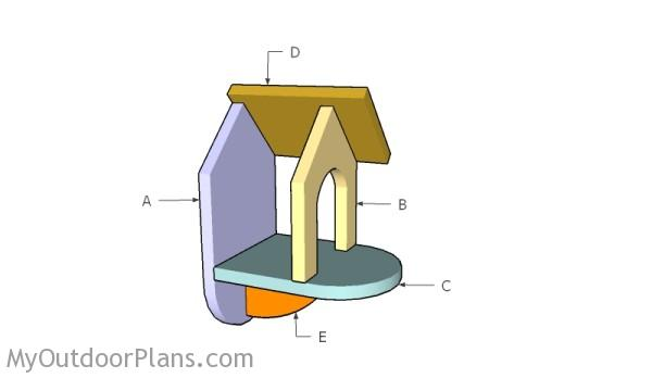 Building a bird table