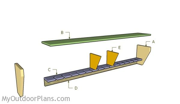 Building a clamp rack