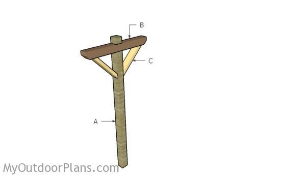 Building a clothesline