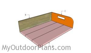 Building a potting tray