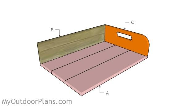Building a potting tray