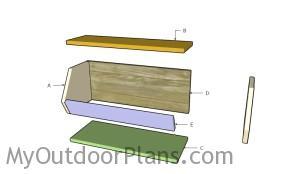 Building a storage bin