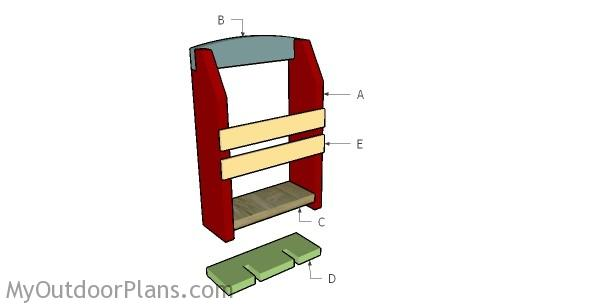 Building a wine glass rack