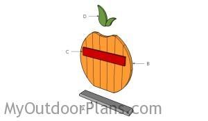 Building a wood pumpkin decoration